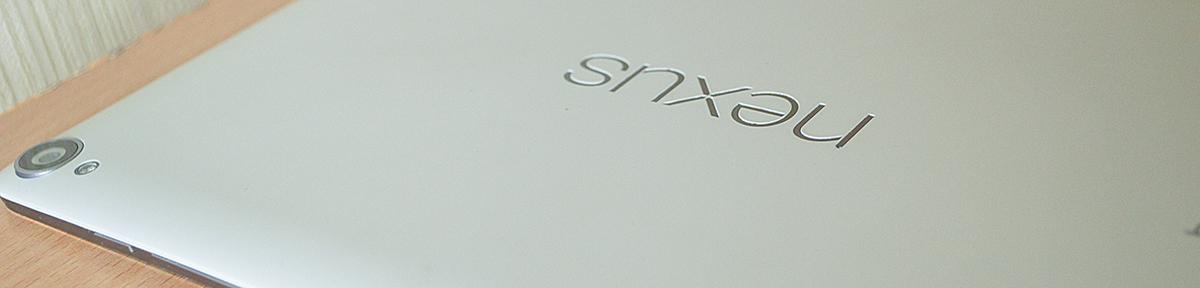 nexus9 背面