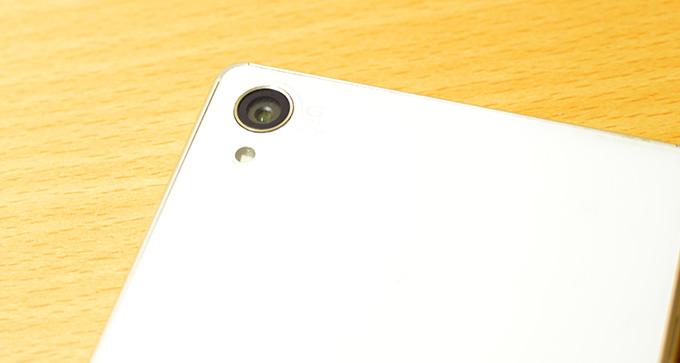 Z3のカメラ