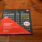 スペイン・バルセロナ空港で旅行者用のsimカードを買う方法。懐かしのVodaFone